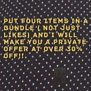 Jewelry - Bundles of four save big.
